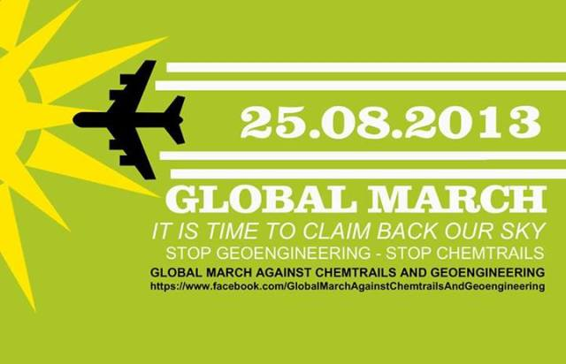poster global march