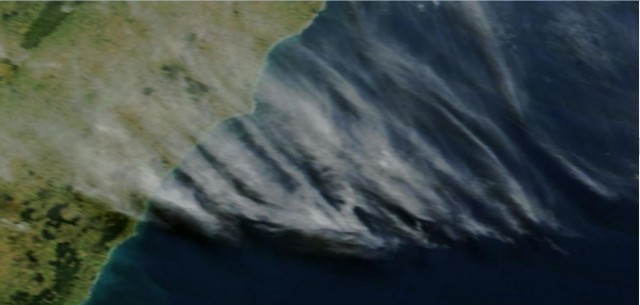 Satellite imagery from March 14 over New Zealand from Rapidfire