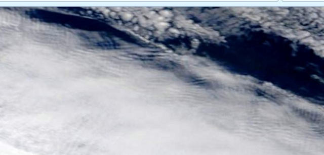 Close up of rippling to west of Northland from Terra for Nov 27