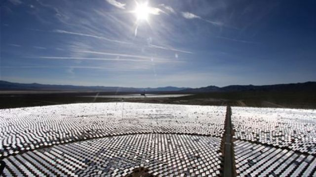 Photo from FoxNews.com: http://www.foxnews.com/us/2014/02/15/world-largest-solar-plant-burning-up-birds-in-nevada-desert/