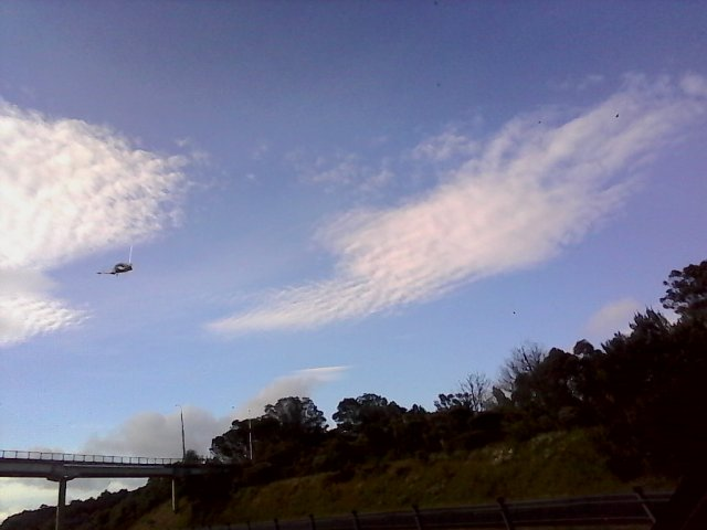 Photo taken from Auckland on the morning of December the 5th by Hannah S.