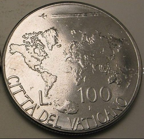 100 Lire Coin Now Out of Circulation